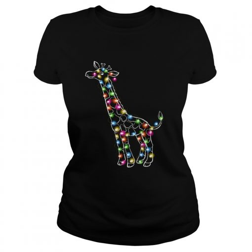 Giraffe Christmas Lights  Classic Ladies