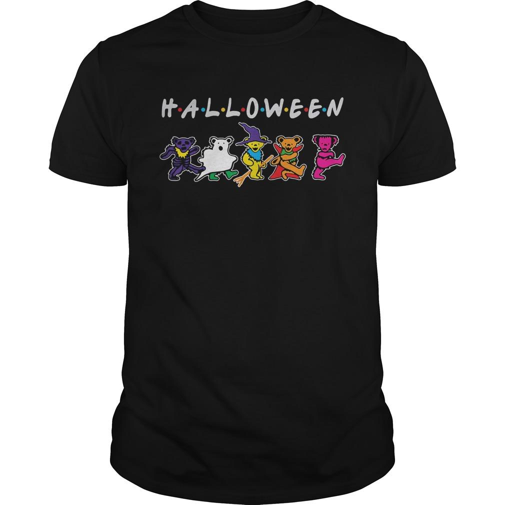 Halloween friends grateful dead bear dancing Unisex