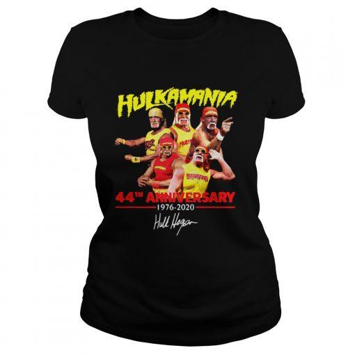 Hulkamania 44th Anniversary 19762020 Signature  Classic Ladies