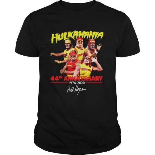 Hulkamania 44th Anniversary 19762020 Signature  Unisex