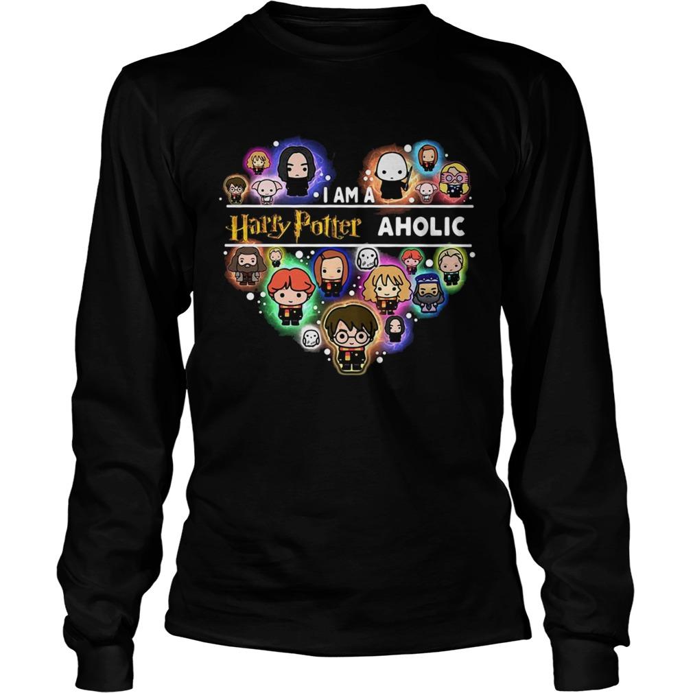 I am a Harry Potter aholic heart LongSleeve