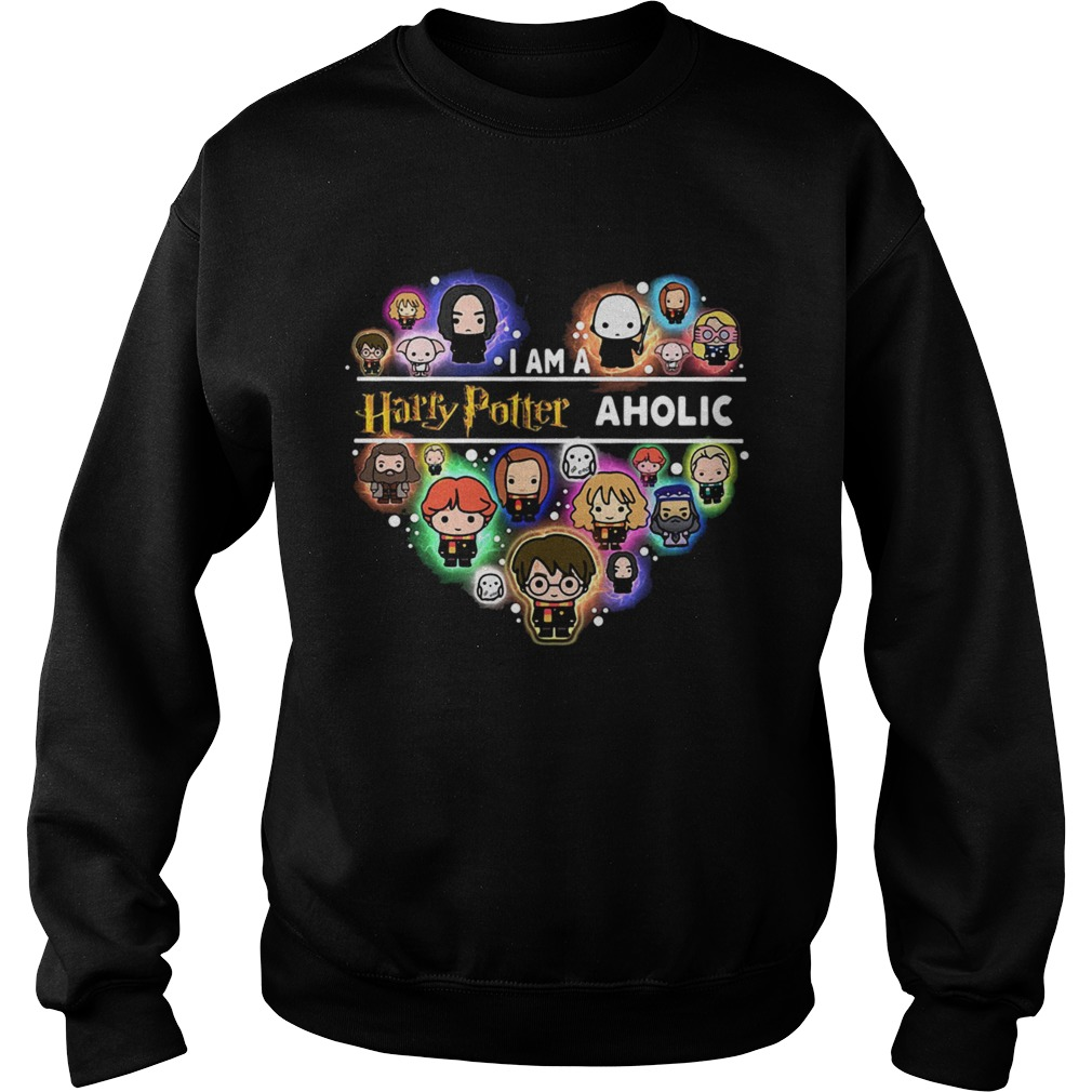 I am a Harry Potter aholic heart Sweatshirt
