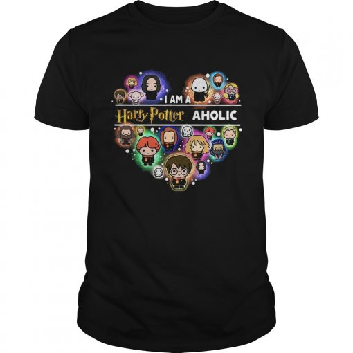 I am a Harry Potter aholic heart  Unisex