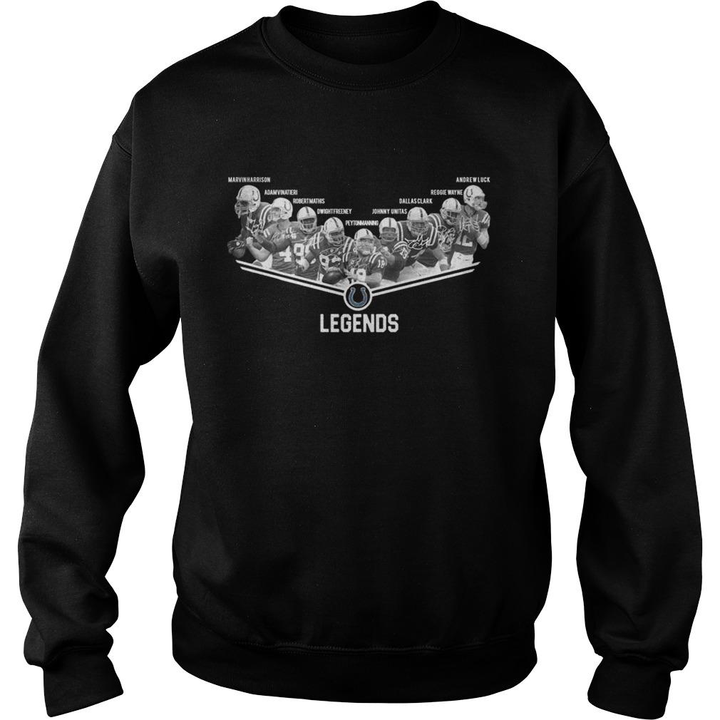Indianapolis Colts Legends Shirt Sweatshirt