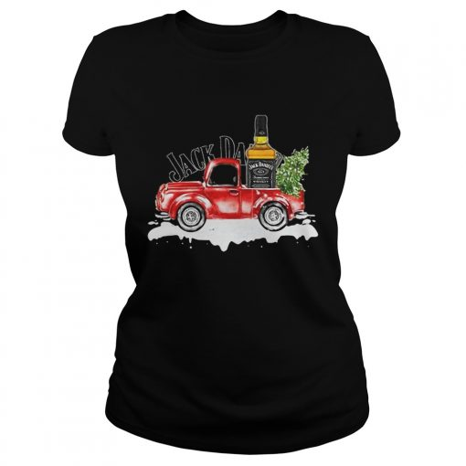 Jack Daniels Whiskey christmas truck  Classic Ladies
