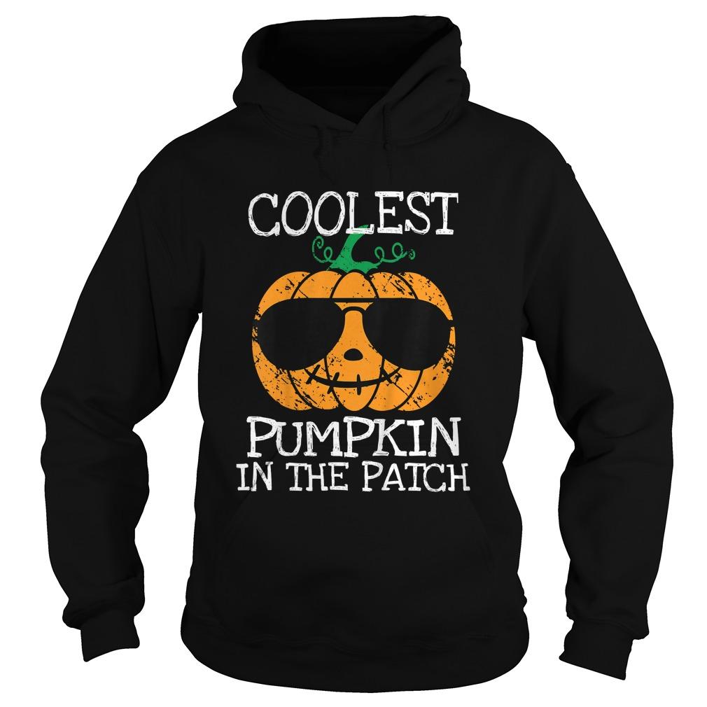 Kids Coolest Pumpkin In The Patch Halloween Costume Boys Gift TShirt Hoodie