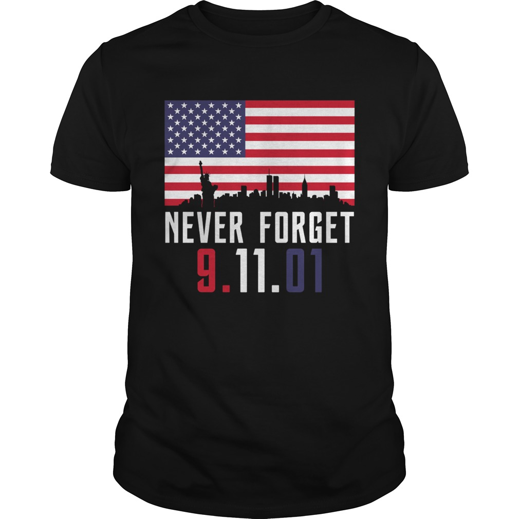 Never Forget 91101 Unisex