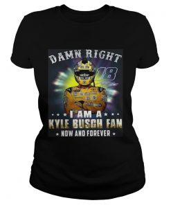 Nice Damn right 18 signature I am a Kyle Busch fan now and forever  Classic Ladies