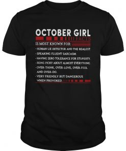 October Girl facts is most known for  Unisex