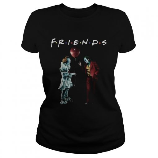 Pennywise with Joker friends tv show  Classic Ladies