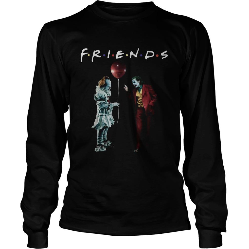 Pennywise with Joker friends tv show LongSleeve