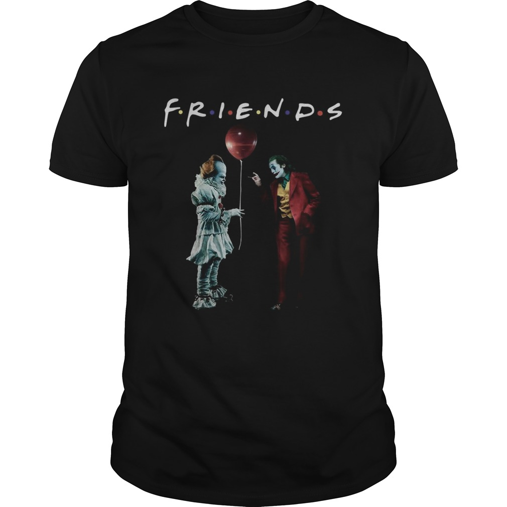 Pennywise with Joker friends tv show Unisex