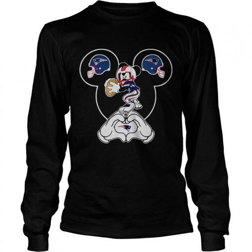 Philadelphia Eagles Mickey mouse  LongSleeve
