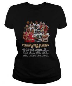 Philadelphia legends est 1682 signature  Classic Ladies