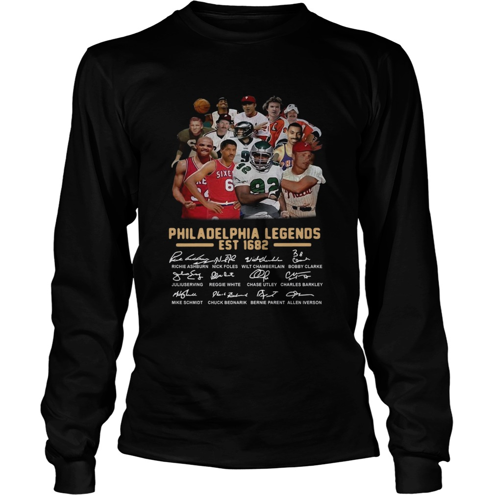 Philadelphia legends est 1682 signature LongSleeve
