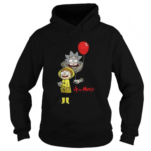 Rick and Morty IT and Morty Halloween  Hoodie