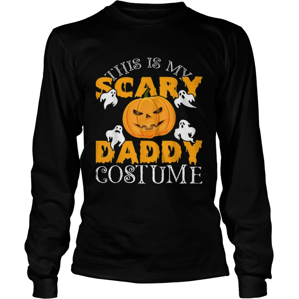 This Is My Daddy Costume Sarcastic Daddy Halloween LongSleeve