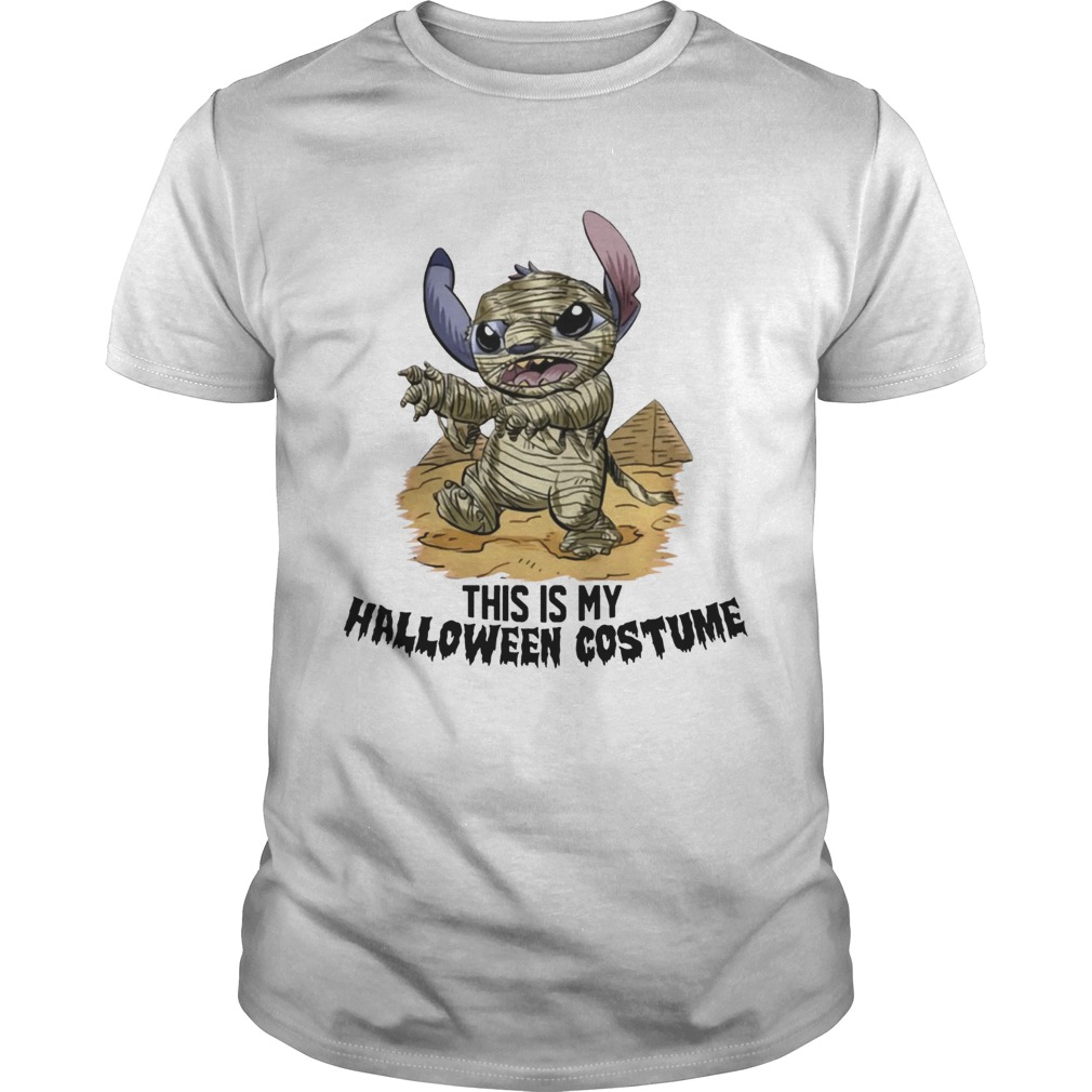 This Is My Halloween Costume Mummy Stitch Shirt Unisex