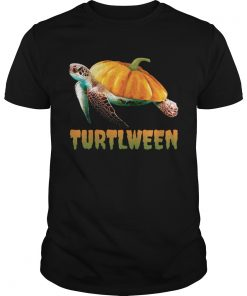 Turtlween Funny Halloween Pumpkin Turtle Lovers Shirt Unisex