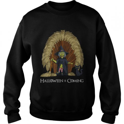 Witch Brooms Throne Funny HalloweenTShirt Sweatshirt