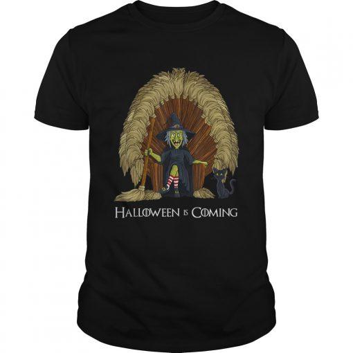 Witch Brooms Throne Funny HalloweenTShirt Unisex