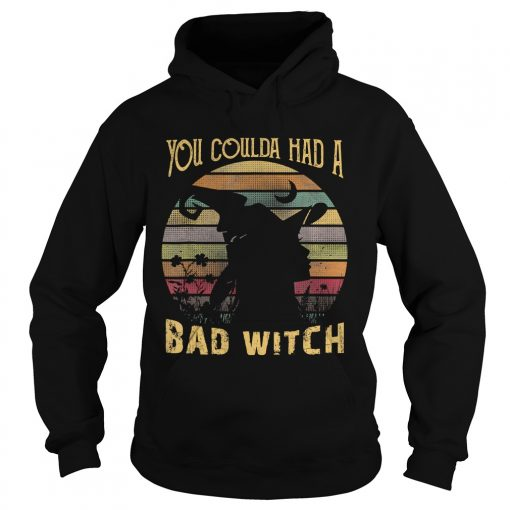You Coulda had a Bad Witch Halloween Funny Gift Awesome TShirt Hoodie