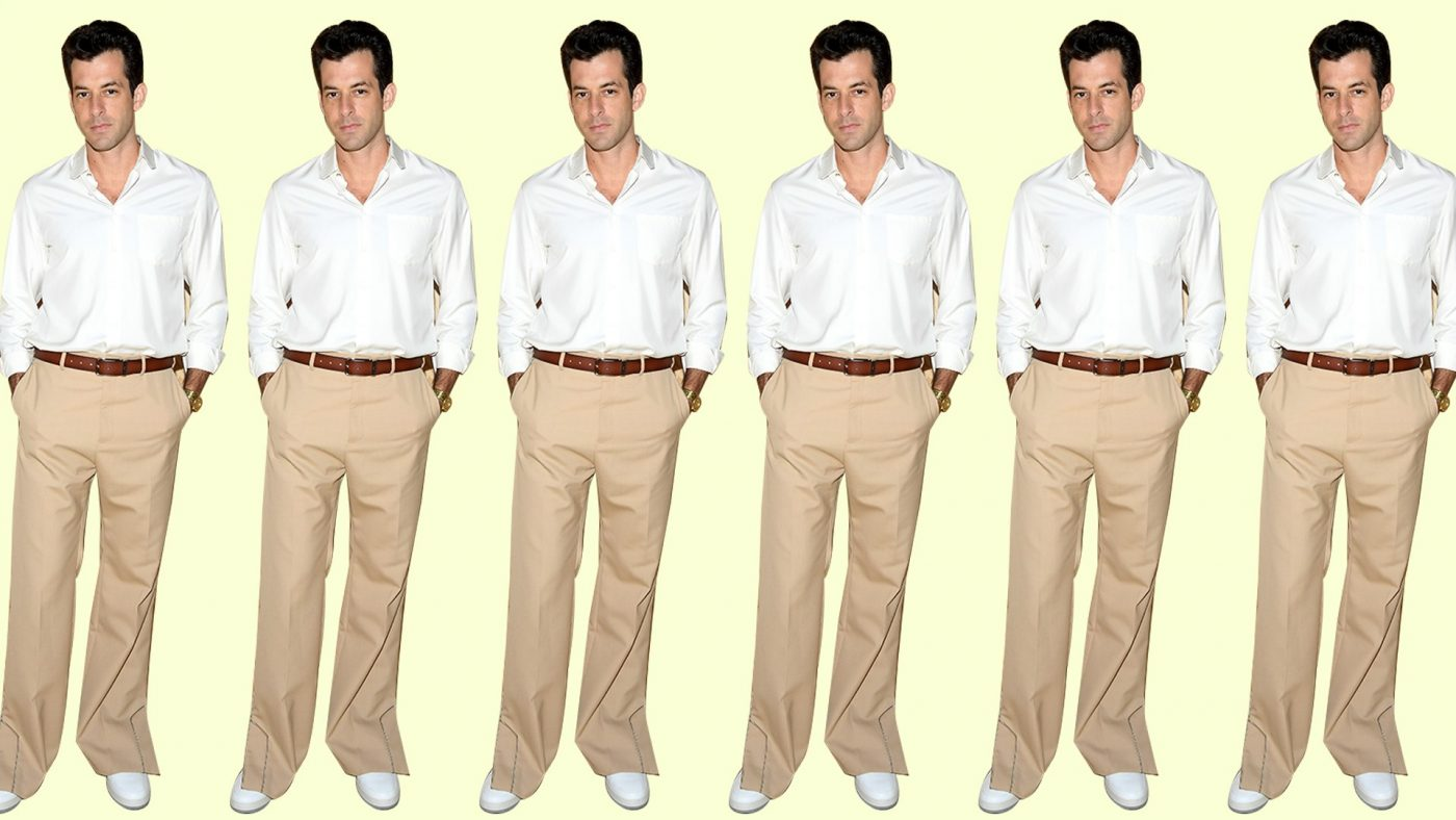 Mark Ronson Takes the Men's Flare Leg out for a Spin