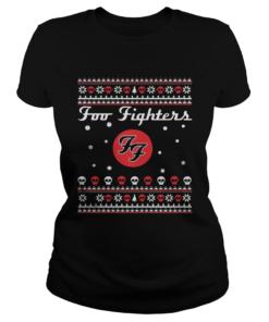 1571387954Foo Fighters Christmas Shirt Classic Ladies