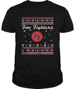 1571387954Foo Fighters Christmas Shirt Unisex