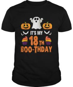 1571796006Halloween 18th Birthday Boo-thday T-Shirt Unisex