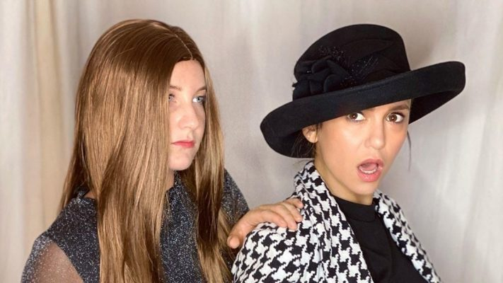 Nina Dobrev Delivers a Halloween Costume Only True Fashion Fans Will Know