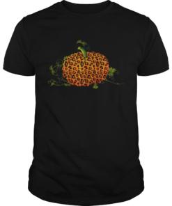 Animal Leopard Pumpkin Fall Autumn Halloween Gift TShirt Unisex