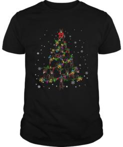 Australian Kelpie Christmas Tree TShirt Unisex