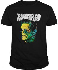 Awesome Vintage Frankenstein Halloween Party Horror Movie  Unisex