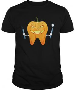 Beautiful Dentist Halloween Night Pumpkin Scrubs Scary Gift  Unisex