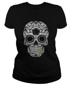 Beautiful Halloween Day Of The Dead Sugar Skull Retro Outfit  Classic Ladies