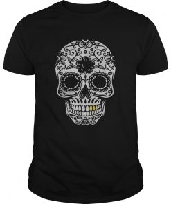 Beautiful Halloween Day Of The Dead Sugar Skull Retro Outfit  Unisex
