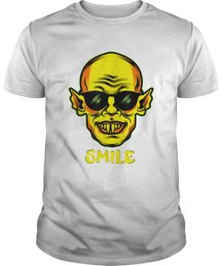 Beautiful Im Fine You Smile Zombie Halloween Vampire Graphic  Unisex