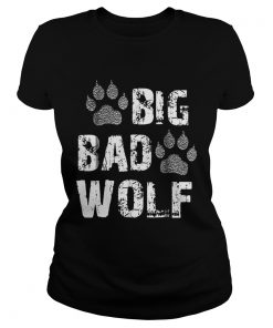 Big Bad Wolf Paw Print Halloween Costume  Classic Ladies