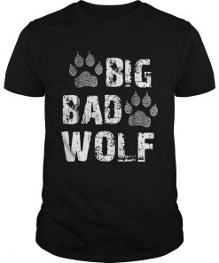 Big Bad Wolf Paw Print Halloween Costume  Unisex