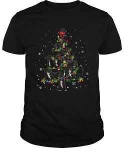 Black Cockapoo Christmas Tree TShirt Unisex