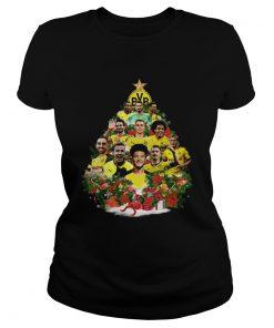Borussia Dortmund Player Christmas Tree Shirt Classic Ladies