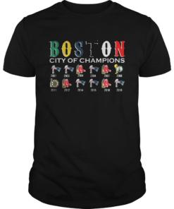 Boston City of Champions Shirt Unisex
