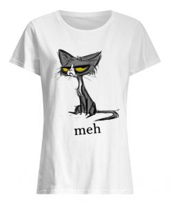 Cat meh  Classic Women's T-shirt
