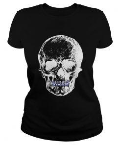 Creepy Skull With Braces Cool Halloween  Classic Ladies