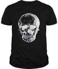 Creepy Skull With Braces Cool Halloween  Unisex
