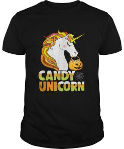 Cute Candy Corn Unicorn Halloween Girls Outfit  Unisex