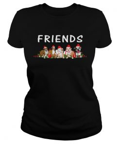 Dogs Christmas Friends  Classic Ladies