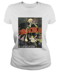 Dracula Monster Vintage Movie Poster Halloween  Classic Ladies