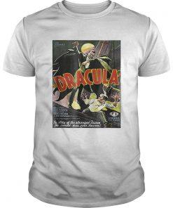 Dracula Monster Vintage Movie Poster Halloween  Unisex